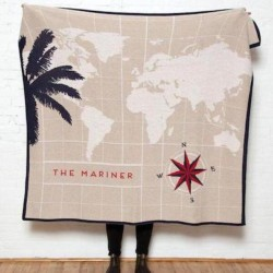 Eco Mariner Personalized Throw