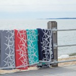Eco Tumbling Starfish Reversible Throw