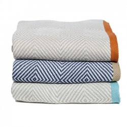 Eco Poly Woven Square Throw