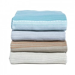 Eco Poly Digital Ombre Throw